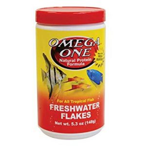 Omega One Freshwater Flakes, 5.3 oz. by