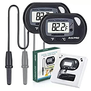 RISEPRO Digital Water Thermometer For Fish Tank