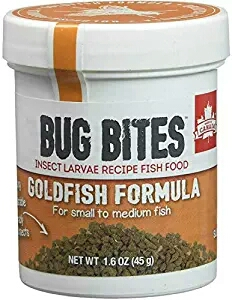 Fluval Bug Bites Goldfish Formula for Small to Medium Fish